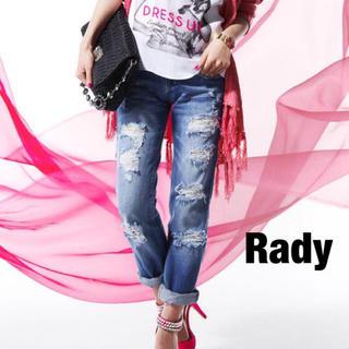 レディー(Rady)のRady クラッシュデニム(デニム/ジーンズ)