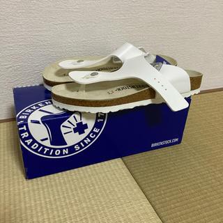 ビルケンシュトック(BIRKENSTOCK)の★新品未使用★BIRKENSTOCK RAMSESホワイト26.5cm(サンダル)