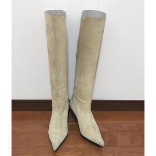 ギンザカネマツ(GINZA Kanematsu)の銀座かねまつ スエードロングブーツ  23cm D(ブーツ)