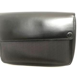 ダンヒル(Dunhill)のダンヒル セカンドバッグ - 黒(セカンドバッグ/クラッチバッグ)