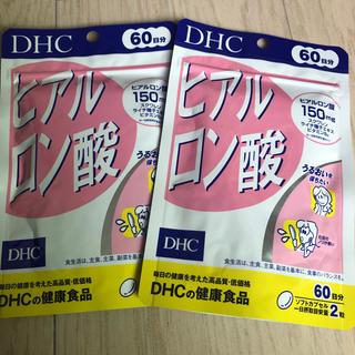ディーエイチシー(DHC)の【60日分 × 2袋】 DHC ヒアルロン酸(コラーゲン)
