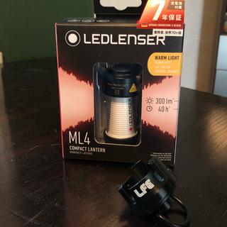 レッドレンザー(LEDLENSER)のレッドレンザーML4 WARM × LOCKFIELDアダプタ各1個セット(ライト/ランタン)