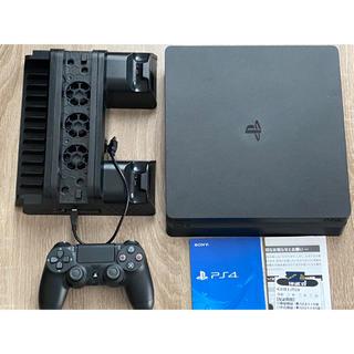 PlayStation4 - 【保証あり】PS4 プレイステーション4本体 CUH-2200AB01+スタンド