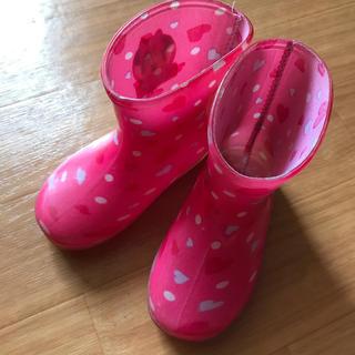 ディズニー(Disney)のミニー長靴14㎝(長靴/レインシューズ)