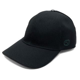 Gucci - グッチ ★ 帽子 G柄 刺繍入り  ベースボール キャップ黒★新品、袋付き