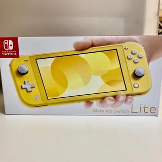ニンテンドースイッチ(Nintendo Switch)のswitch Lite  スイッチライト本体 イエロー(携帯用ゲーム機本体)