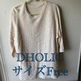 ディーホリック(dholic)のDHOLIC 五分袖シャツ チュニック(チュニック)
