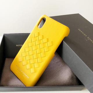 ボッテガヴェネタ(Bottega Veneta)のボッテガヴェネタ  iPhoneケース 10 10X 黄色 イエロー 新品(iPhoneケース)