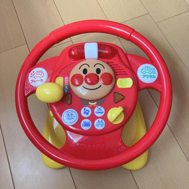 アンパンマン(アンパンマン)のアンパンマン ハンドル おもちゃ キッズ/ベビー/マタニティのおもちゃ(知育玩具)の商品写真