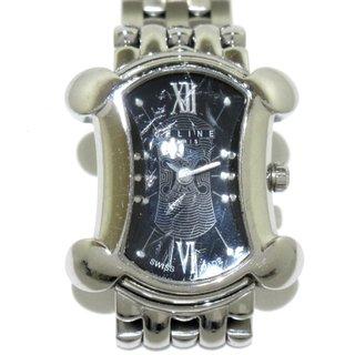 セリーヌ(celine)のCELINE(セリーヌ) 腕時計 レディース 黒(腕時計)