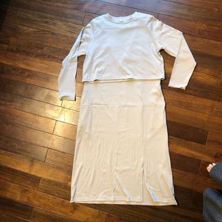レプシィム(LEPSIM)のレプシム妊婦服(マタニティワンピース)