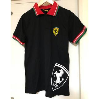 フェラーリ(Ferrari)のフェラーリ♦︎Lサイズワッペン襟シャツ(ポロシャツ)