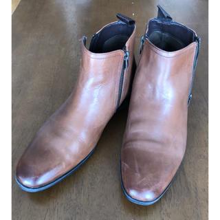 クラークス(Clarks)のクラークス サイドチャッカーブーツ 25.5cm(ドレス/ビジネス)