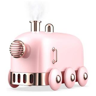 加湿器 超音波式加湿器 空気浄化器 乾燥対策花粉症対策七色雰囲気ライト(ピング)