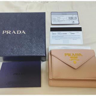 PRADA - PRADA ミニウォレット 三つ折り財布