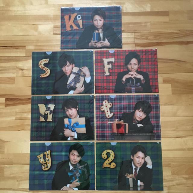 Kis-My-Ft2(キスマイフットツー)のキスマイ Thank you じゃん! クリアファイル エンタメ/ホビーのタレントグッズ(アイドルグッズ)の商品写真