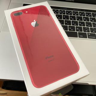 iPhone - iPhone8plus 64GB レッド 本体 新品未使用