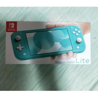 本日限定出品!Nintendo Switch  Lite ターコイズ(家庭用ゲーム機本体)