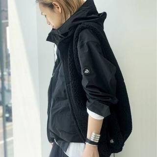 L'Appartement DEUXIEME CLASSE - AP STUDIO別注 yeti/イエティウールボアベスト★ブラック