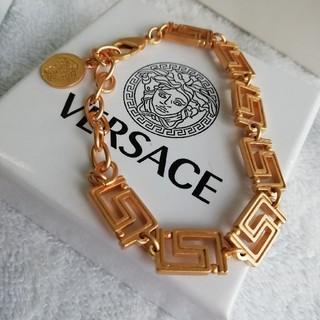 ヴェルサーチ(VERSACE)の美品・VERSACE ヴェルサーチ ブレスレット レディース(ブレスレット/バングル)