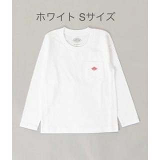 ダントン(DANTON)の新品 danton ダントン キッズ クルーネック 長袖ポケットTシャツ S(Tシャツ/カットソー)