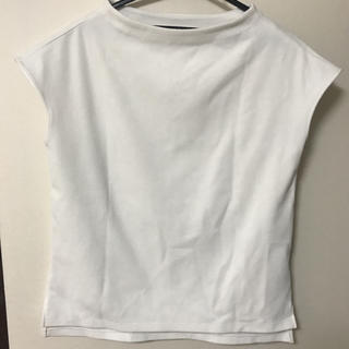 プラステ(PLST)の半袖カットソー 白 plst  プラステ(カットソー(半袖/袖なし))