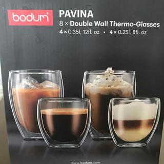 ボダム(bodum)のダブルウォールグラス ボダム(グラス/カップ)