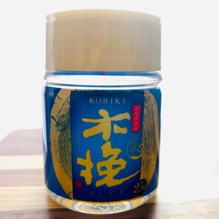【非売品】本格芋焼酎 木挽BLUE 25度 100ml(焼酎)