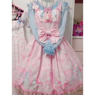 Angelic Pretty - Angelic Pretty ドリィーミィドールハウス切替JSK ピンク