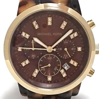 マイケルコース(Michael Kors)のマイケルコース 腕時計 - MK-5216 ブロンズ(腕時計)
