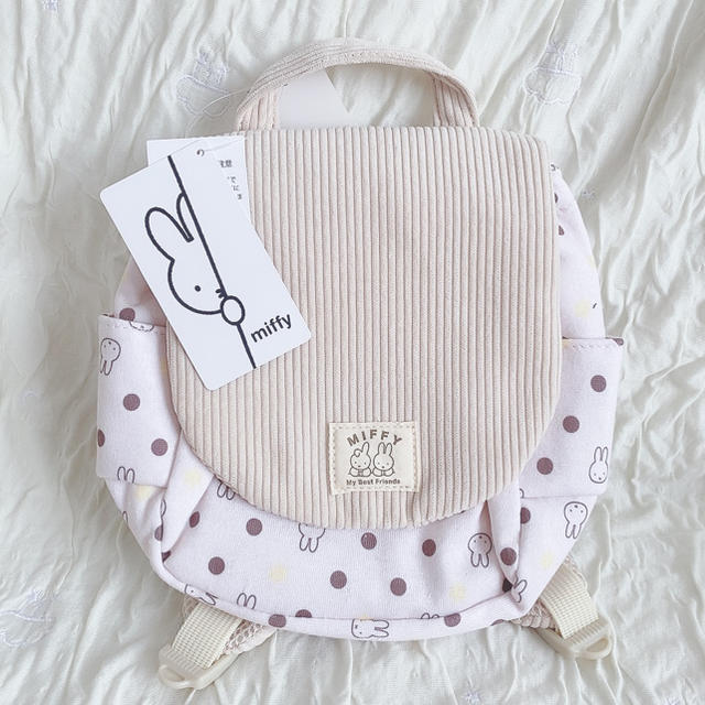 miffy リュック キッズ/ベビー/マタニティのこども用バッグ(リュックサック)の商品写真