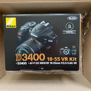 Nikon - Nikon D3400 18-55 VR レンズキット BLACK