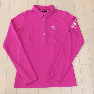 キャロウェイゴルフ(Callaway Golf)のキャロウェイ Callaway 長袖シャツ サイズM 女性用(ウエア)