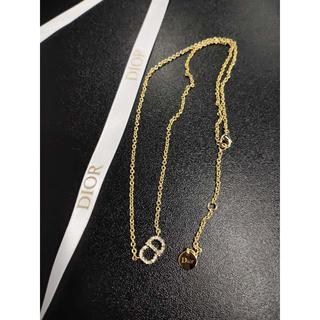 ディオール(Dior)のDior CLAIR D LUNE ネックレス  ゴールド(ネックレス)