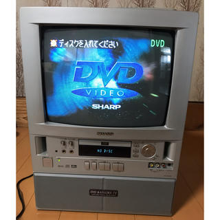 シャープ(SHARP)のSHARPテレビ一体型DVDカラオケ ジャンク品(その他)