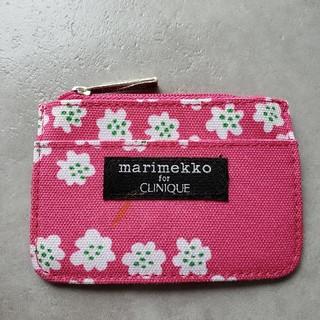 marimekko - ①marimekko CLINIQUE  プケッティ❃❃❃ ミニケース