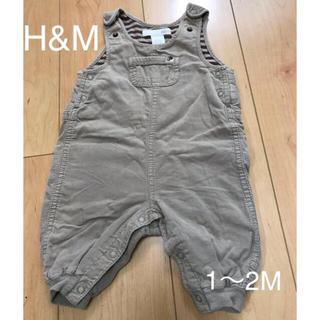 エイチアンドエム(H&M)のオーバーオール H&M  60㎝(カバーオール)