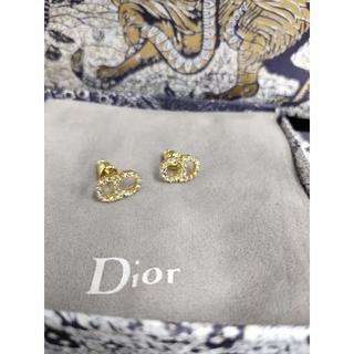 ディオール(Dior)のDior CLAIR D LUNE ピアス  ゴールド(ピアス)