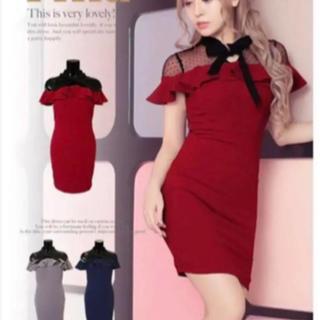 JEWELS - Tika 赤 ドレス