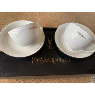 イヴサンローランボーテ(Yves Saint Laurent Beaute)のイブサンローラン  カップ&ソーサー セット 新品 ティーカップ(グラス/カップ)