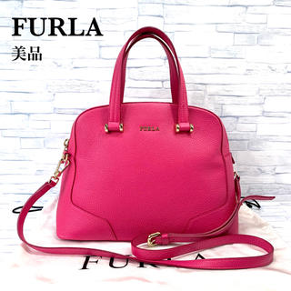 フルラ(Furla)の美品 フルラ  FURLA  2way ハンドバッグ ショルダーバッグ(ハンドバッグ)
