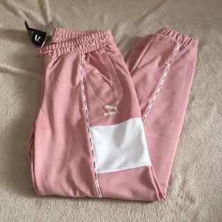 プーマ(PUMA)の新品★プーマL ジャージXTG トラックパンツ ピンク(その他)
