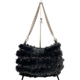 アンテプリマ(ANTEPRIMA)のアンテプリマ ハンドバッグ美品  - 黒(ハンドバッグ)