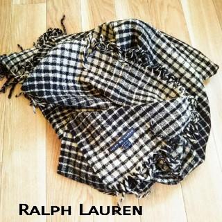 ラルフローレン(Ralph Lauren)のRALPH RL LAUREN //大判のストール(マフラー/ショール)