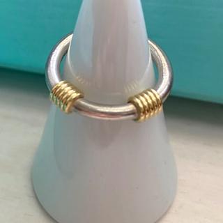 ティファニー(Tiffany & Co.)のTiffany ヴィンテージコンビリング925 750 7号(リング(指輪))