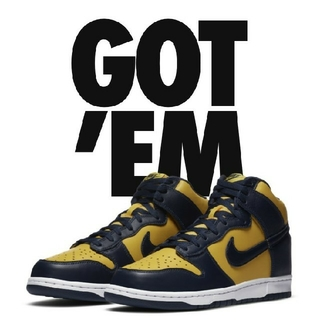 "NIKE - NIKE Dunk High SP ""Michigan"" ナイキ ダンク ハイ"