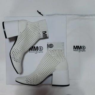 エムエムシックス(MM6)のMM6メゾンマルジェラ ソックスブーツ(ブーツ)