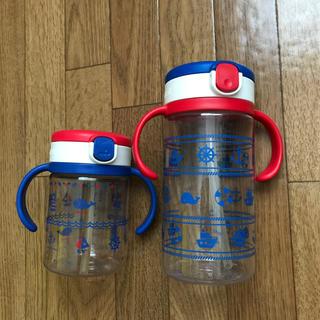 リッチェル(Richell)のリッチェル ストローマグ 200㎖ 320㎖ 2個セット(マグカップ)