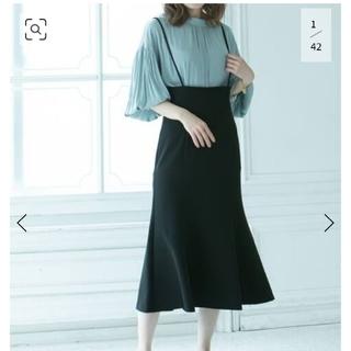 Noble - ノーブル ショルダーストラップサロペットマーメイドスカート