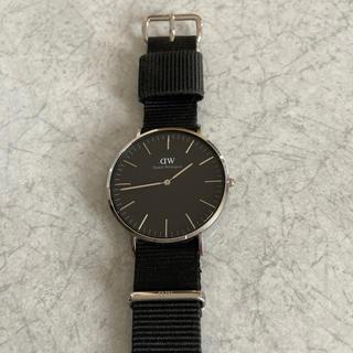ダニエルウェリントン(Daniel Wellington)の腕時計ダニエルウェリントンブラック(腕時計(アナログ))